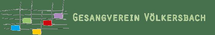 Gesangverein Freundschaft Völkersbach Logo